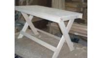 Стол (косые ножки) 1,2м (липа)