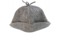 Шляпа Банщик  НП серый
