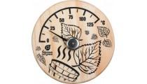 Термометр Листья 14*14 для бани