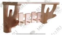 Полка-Вешалка резная 2 Н 5с  ММ12